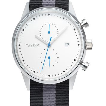 TXM089 - Black/Grey Nylon NATO