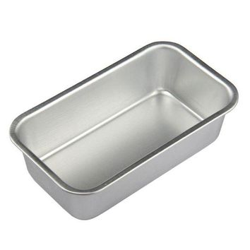 CREYLD1 5pcs/10pcs Small (11.5*6.5cm) Aluminum Rectangular Non-stick Baking Pan Bread Cake Mold Bakeware Kitchen Accessories