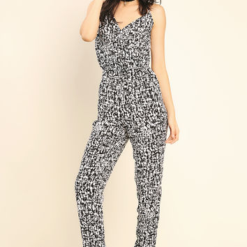 Abstract Pattern Jumpsuit
