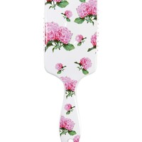 Rectangle Floral Paddle Brush