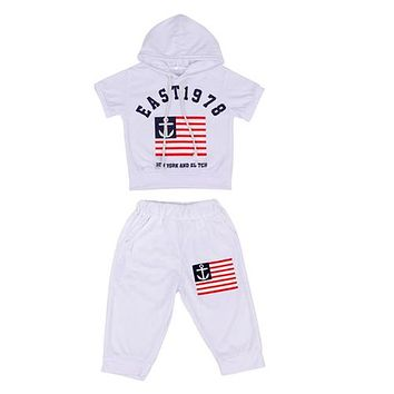 Kids Set New Summer Kids T-Shirts & Pants Sets