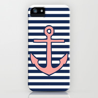 Anchor iPhone & iPod Case by Dani