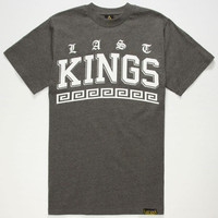 Last Kings Trip Mens T-Shirt Charcoal  In Sizes