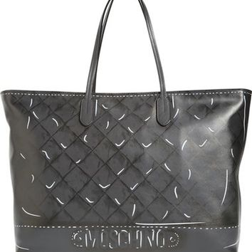 Moschino Shadow Print Leather Tote | Nordstrom
