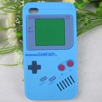 1x 3D Game Boy Silicon Back Case Skin Cover for iPhone 4G 4S 5 5G iPod Touch 4 5