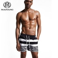2017New Hot Men Swimming Trunks Solid Color Beach Pants Swim Wear Quick-drying Plus Size Sports Swimming Shorts Swimming Suit086