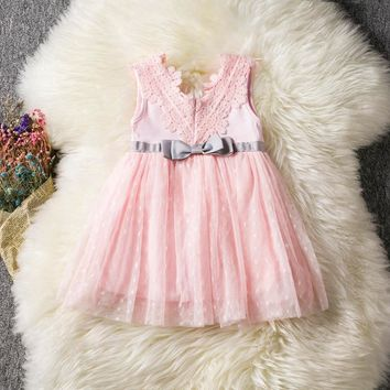 Newborn Baby Girl Baptism Clothe Dress Boutique Outfits Lace Christening Toddler Girl Clothing Kids Infant Birthday Party Dress
