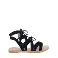 Strappy Lace Up Sandal