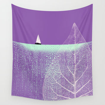 Ocean Wonderland I Wall Tapestry by Pia Schneider [atelier COLOUR-VISION]