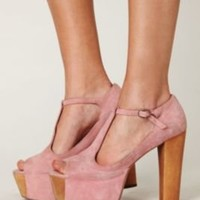 Jeffrey Campbell Eloise Platform at Free People Clothing Boutique