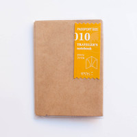 Midori Traveler's Note Passport: 010 Kraft File