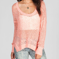 Roxy Rochester Womens Sweater Coral  In Sizes