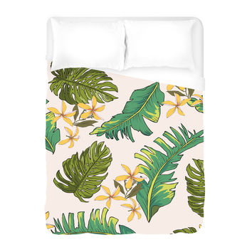 Palms of Plenty Duvet Cover