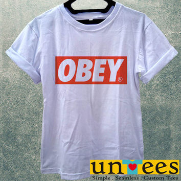 Low Price Women's Adult T-Shirt - Obey Logo design