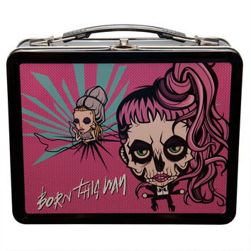 Lady Gaga - Gaga Skeleton Cartoon Lunch Box