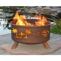 SheilaShrubs.com: Pacific Coast Fire Pit F117 by Patina Products: Fire Pits