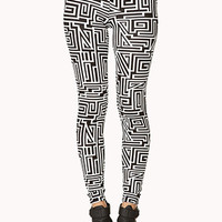 Crazy Maze Leggings