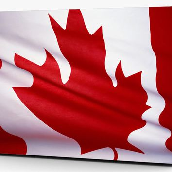 Canadian Maple Flag Vinyl Laptop Computer Skin Sticker Decal Wrap Mackbook Various Sizes