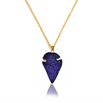 Stylish Shiny Jewelry New Arrival Gift Irregular Vintage Resin Pendant Chain Necklace [6464855297]