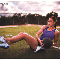 Alex Morgan US Women's Soccer Poster 11x17