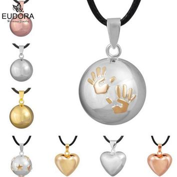 Guardian Angel Pendants Chime Ball Jewelry Eudora Harmony Bola Mexico Ball Baby Angel Caller Pendant Necklace Pregnant Gift