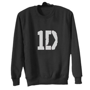 one direction sweater Black Sweatshirt Crewneck Men or Women for Unisex Size with variant colour
