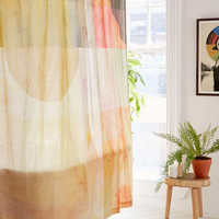 Painterly Colorblock Shower Curtain - Urban Outfitters