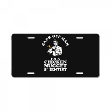 chicken nugget scientist License Plate