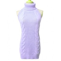 Purple Virgin Killer Sweater