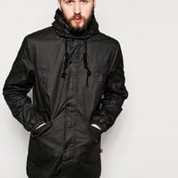 Bellfield Coated Cotton Parka
