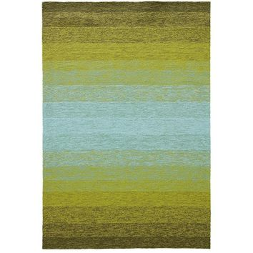 Carmel Green Luxury Outdoor Rug