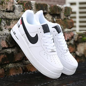 Nike Air Force 1 AF1 Air force one pure white men's and women's casual sports shoes