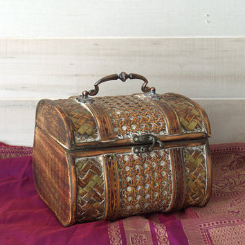 Boho Treasure Chest Storage Box