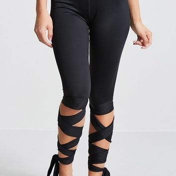 Active Self-Tie Capri Leggings