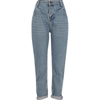 River Island Womens Vintage wash slim Mom jeans