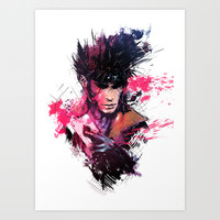 Gambit Art Print by Vincent Vernacatola