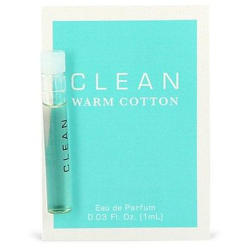 Clean Warm Cotton by Clean Vial (sample) .03 oz  for Women