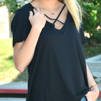 Sweet New Day Top - Black