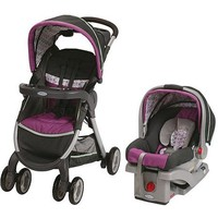 Graco FastAction Fold Sport Click Connect Travel System, Nyssa - Walmart.com