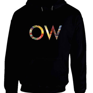 Oh Wonder Title Technicolour Beat Mask Hoodie