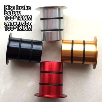 Mountain Highway Bicycle Disc Brake Side Cover Conversion Seat Bucket Shaft Before 100*15MM Convert 100*12MM