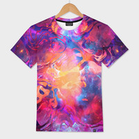 «Marble V / NE» Men's All Over T-Shirt by ArtDesignWorks - Numbered Edition from $39 | Curioos