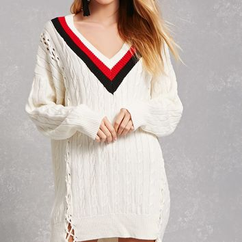 Twelve Varsity Sweater Dress
