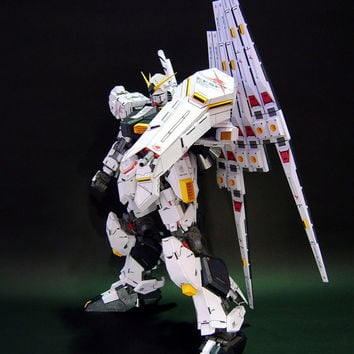 RX-93v GUNDAM,Create your own Gundam,Instant Pdf download,Pattern,Paper toys,Handmade,paper, Paper Gundam,Paper Crafts,3Dpaper,hobby,3D
