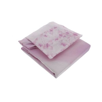 Truly Scrumptious by Heidi Klum Butterfly Wonderland Cotton Fitted Crib Sheet