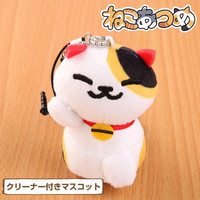 Neko Atsume Kitty Collector Plush Doll Smartphone Cleaner (Rare Cats/Koikoi-san/Ms. Fortune)