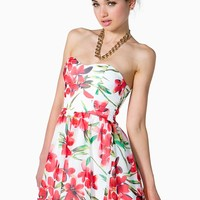 Blooming Florals Poof Dress