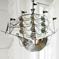 Junk Gypsys Dreamer Ship Chandelier