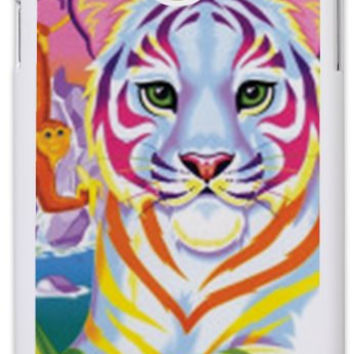 Custom LISA FRANK Neon Tiger and Monkey 90's  Phone Case IPhone 4/4s IPhone 5 Galaxy S3 Galaxy S4 Galaxy Note 3