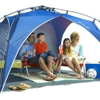 Lightspeed Outdoors Quick Beach Canopy Tent, Blue